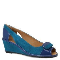 Туфли  49750 зелено-синий PAKERSON
