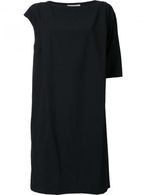 Платье с короткими рукавами Enföld. Цвет: чёрный