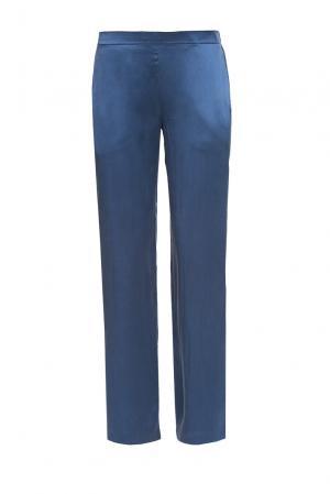 Damore Пижамные брюки из шелка CO-189656 D'amore. Цвет: синий