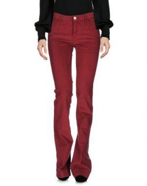 Повседневные брюки HAIKURE. Цвет: кирпично-красный