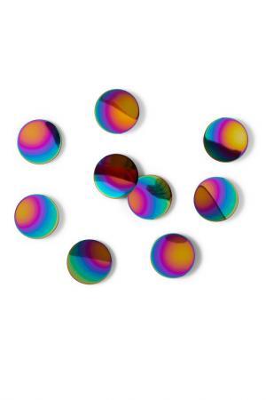 Декор для стен Confetti dots UMBRA. Цвет: зеленый, розовый