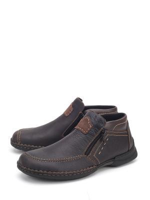 Ботинки Rieker. Цвет: коричневый