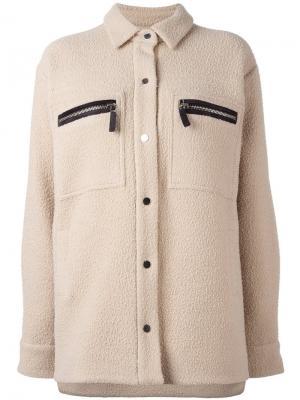 Куртка Saul Filles A Papa. Цвет: телесный