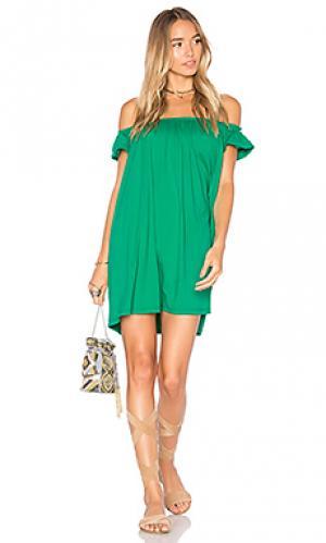 Nini 16 dress Susana Monaco. Цвет: зеленый