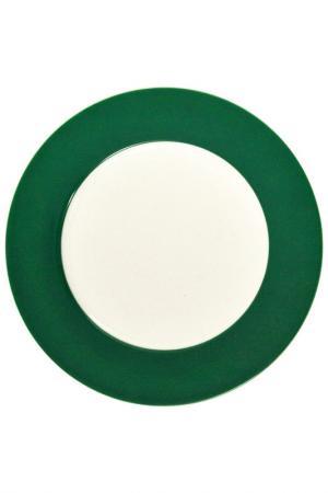 Тарелка подставочная KAHLA. Цвет: зеленый
