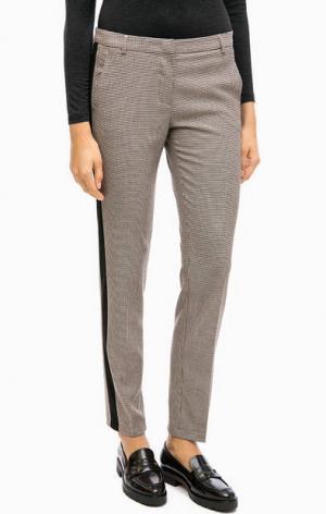 Зауженные повседневные брюки MORE &. Цвет: коричневый
