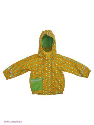 Куртка- дождевик утепленная детская Sterntaler. Цвет: желтый