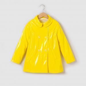 Плащ непромокаемый для  2-12 лет La Redoute Collections. Цвет: желтый