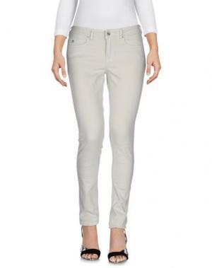 Джинсовые брюки MAISON SCOTCH. Цвет: светло-серый