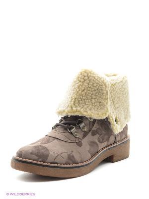 Ботинки S.OLIVER. Цвет: белый