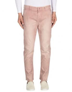 Джинсовые брюки DONDUP. Цвет: пастельно-розовый