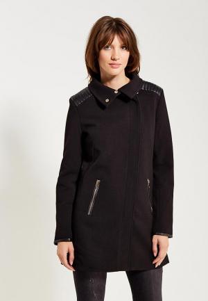 Пальто Regular. Цвет: черный