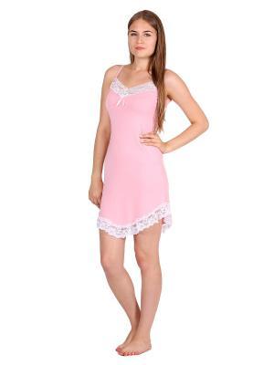 Ночная сорочка Startale. Цвет: персиковый, белый