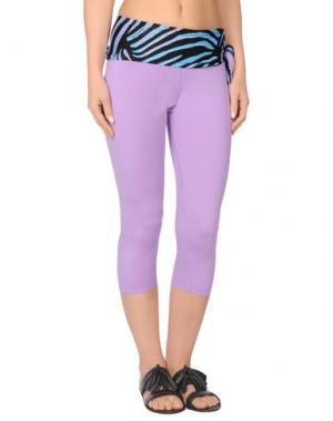 Пляжные брюки и шорты JUST CAVALLI BEACHWEAR. Цвет: светло-фиолетовый