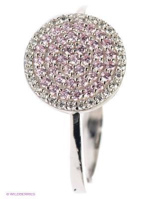 Кольцо APM Monaco. Цвет: розовый, серебристый