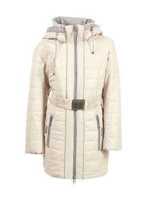 Пальто Arista. Цвет: кремовый