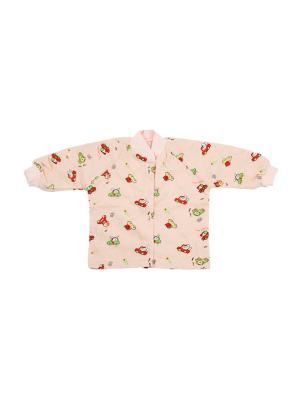 Кофточка КиСса. Цвет: бледно-розовый, розовый