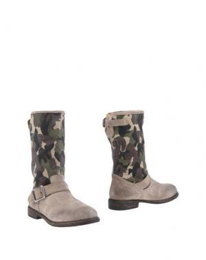 Полусапоги и высокие ботинки MR. WOLF. Цвет: серый