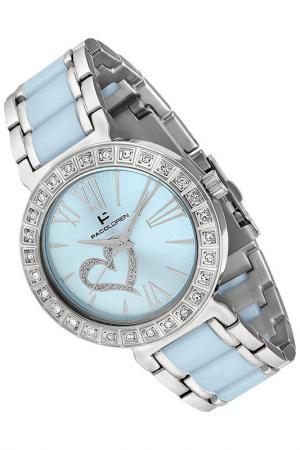 Часы PACO LOREN. Цвет: silver