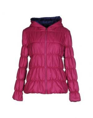 Куртка +MINI. Цвет: розовато-лиловый