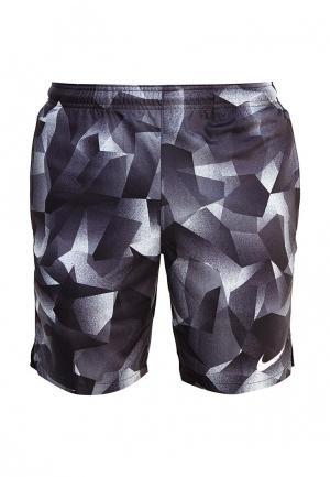 Шорты спортивные Nike. Цвет: разноцветный