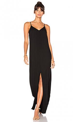 Платье-комбинация kate LA Made. Цвет: черный