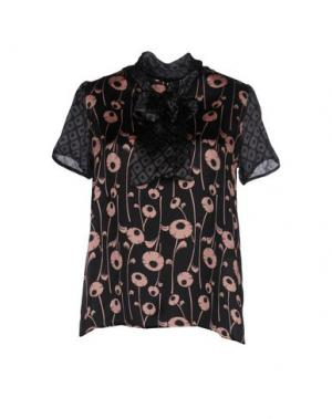 Блузка ONE. Цвет: черный