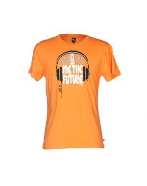 Футболка PAUL FRANK. Цвет: оранжевый