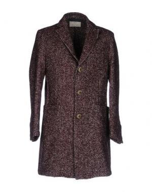 Пальто LOST IN ALBION. Цвет: красно-коричневый