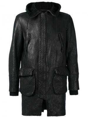 Zip up jacket Salvatore Santoro. Цвет: чёрный
