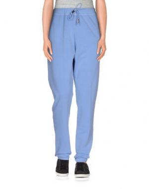 Повседневные брюки JIJIL. Цвет: лазурный