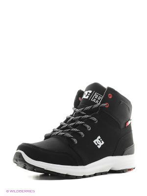 Ботинки DC Shoes. Цвет: черный, белый