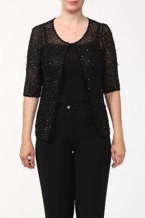 Блуза Marly's. Цвет: черный