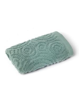 Полотенце для ванной 30х50 см Skif green WESS. Цвет: зеленый
