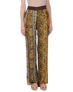 Повседневные брюки SFIZIO. Цвет: желтый