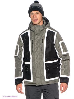 Куртка Baon. Цвет: черный, серый