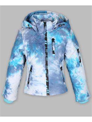 Куртка Arista. Цвет: голубой