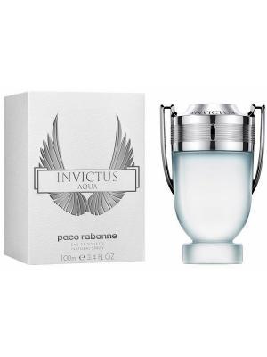 Invictus Aqua edt 100 ml PACO RABANNE. Цвет: серый