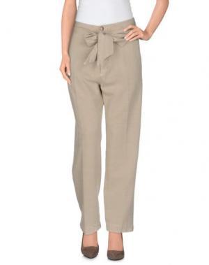 Повседневные брюки VINTAGE 55. Цвет: бежевый