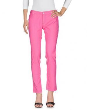 Джинсовые брюки NORTH SAILS. Цвет: фуксия