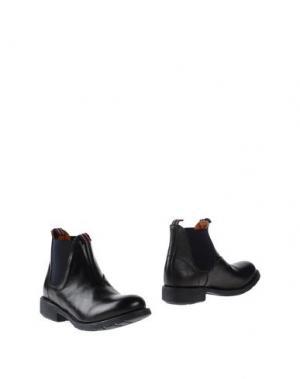 Полусапоги и высокие ботинки REGARD. Цвет: черный