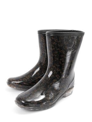 Резиновые сапоги TF. Цвет: черный
