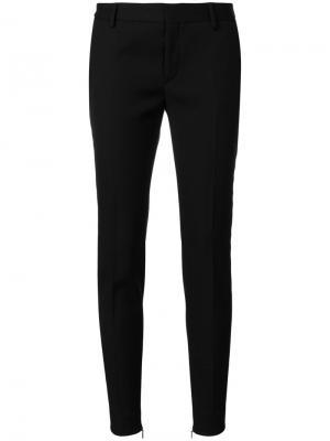Tailored skinny-fit trousers Saint Laurent. Цвет: чёрный