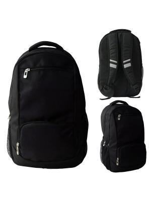 Рюкзак ACTION!. Цвет: черный