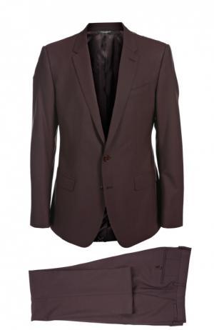 Костюм-тройка Dolce & Gabbana. Цвет: бордовый