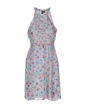 Короткое платье PF PAOLA FRANI. Цвет: светло-зеленый