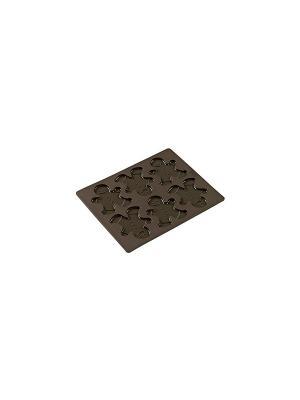 Силиконовые формы для выпечки Флексиформ Lurch. Цвет: коричневый