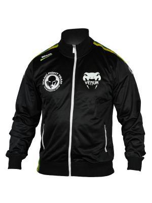 Олимпийка Venum Team Silva Polyester jacket. Цвет: черный