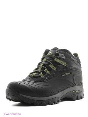 Ботинки MERRELL. Цвет: черный, зеленый
