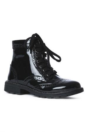 Ботинки Scool S'cool. Цвет: черный